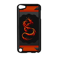 Dragon Apple Ipod Touch 5 Case (black) by Simbadda