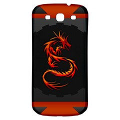 Dragon Samsung Galaxy S3 S Iii Classic Hardshell Back Case by Simbadda