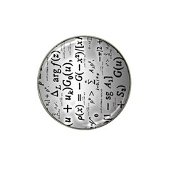 Science Formulas Hat Clip Ball Marker (10 Pack) by Simbadda