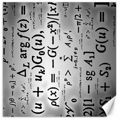 Science Formulas Canvas 12  X 12   by Simbadda