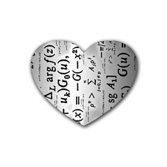 Science Formulas Heart Coaster (4 Pack)