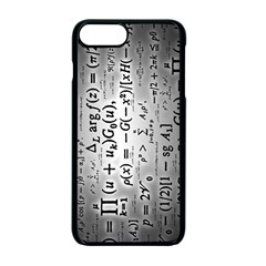 Science Formulas Apple Iphone 7 Plus Seamless Case (black) by Simbadda