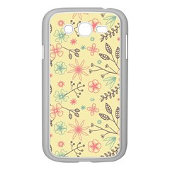 Seamless Spring Flowers Patterns Samsung Galaxy Grand Duos I9082 Case (white) by TastefulDesigns