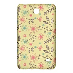 Seamless Spring Flowers Patterns Samsung Galaxy Tab 4 (7 ) Hardshell Case  by TastefulDesigns