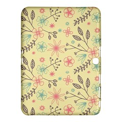 Seamless Spring Flowers Patterns Samsung Galaxy Tab 4 (10 1 ) Hardshell Case  by TastefulDesigns