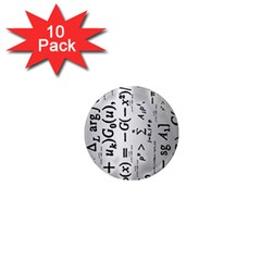 Science Formulas 1  Mini Magnet (10 Pack)  by Simbadda