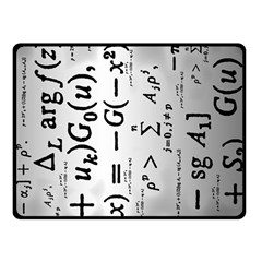 Science Formulas Fleece Blanket (small) by Simbadda