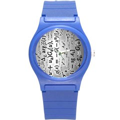 Science Formulas Round Plastic Sport Watch (s) by Simbadda