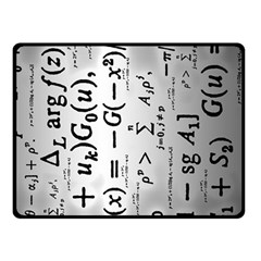 Science Formulas Double Sided Fleece Blanket (small)  by Simbadda