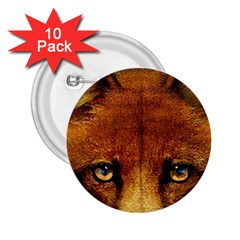 Fox 2 25  Buttons (10 Pack)  by Simbadda