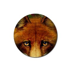 Fox Rubber Coaster (round)