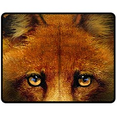Fox Fleece Blanket (medium)  by Simbadda