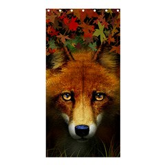 Fox Shower Curtain 36  X 72  (stall)
