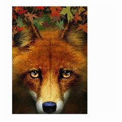 Fox Large Garden Flag (two Sides) by Simbadda