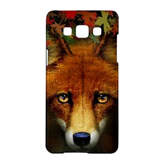 Fox Samsung Galaxy A5 Hardshell Case  by Simbadda