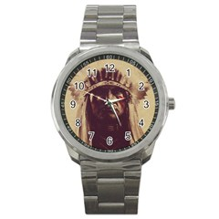 Indian Sport Metal Watch by Simbadda