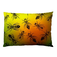 Insect Pattern Pillow Case by Simbadda