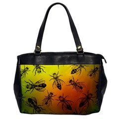Insect Pattern Office Handbags by Simbadda