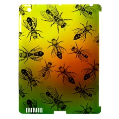 Insect Pattern Apple Ipad 3/4 Hardshell Case (compatible With Smart Cover) by Simbadda