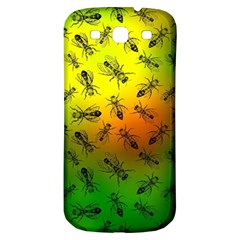 Insect Pattern Samsung Galaxy S3 S Iii Classic Hardshell Back Case by Simbadda