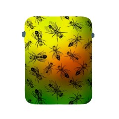 Insect Pattern Apple Ipad 2/3/4 Protective Soft Cases by Simbadda