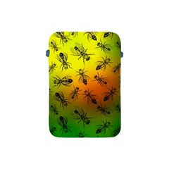Insect Pattern Apple Ipad Mini Protective Soft Cases by Simbadda