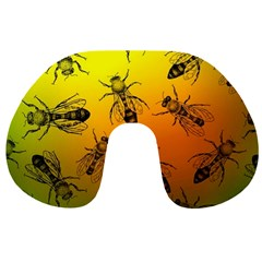 Insect Pattern Travel Neck Pillows
