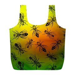Insect Pattern Full Print Recycle Bags (l)  by Simbadda