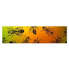 Insect Pattern Satin Scarf (oblong)