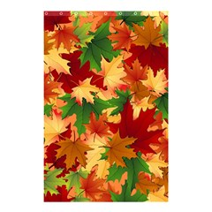 Autumn Leaves Shower Curtain 48  X 72  (small)  by Simbadda