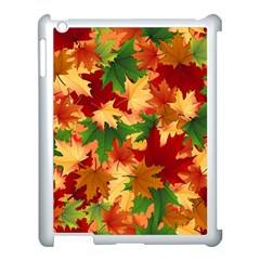 Autumn Leaves Apple Ipad 3/4 Case (white)