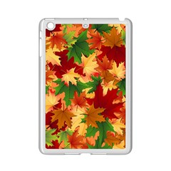 Autumn Leaves Ipad Mini 2 Enamel Coated Cases by Simbadda
