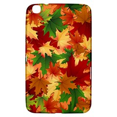 Autumn Leaves Samsung Galaxy Tab 3 (8 ) T3100 Hardshell Case  by Simbadda