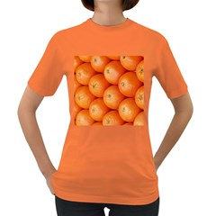 Orange Fruit Women s Dark T Shirt by Simbadda