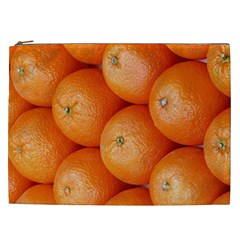 Orange Fruit Cosmetic Bag (xxl)  by Simbadda