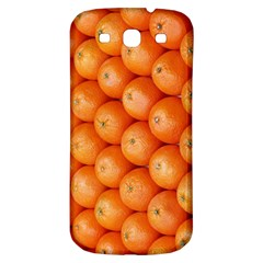 Orange Fruit Samsung Galaxy S3 S Iii Classic Hardshell Back Case by Simbadda