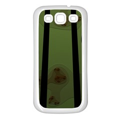 Fractal Prison Samsung Galaxy S3 Back Case (white)