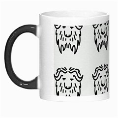 Animal Bison Grey Wild Morph Mugs by Alisyart