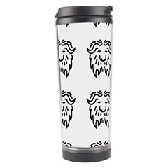 Animal Bison Grey Wild Travel Tumbler by Alisyart
