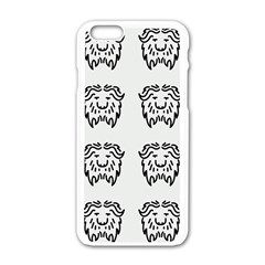 Animal Bison Grey Wild Apple Iphone 6/6s White Enamel Case by Alisyart