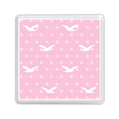 Wallpaper Same Palette Pink Star Bird Animals Memory Card Reader (square)  by Alisyart