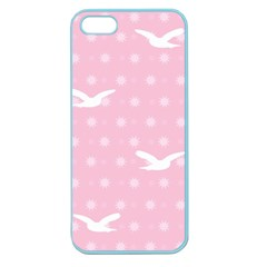 Wallpaper Same Palette Pink Star Bird Animals Apple Seamless Iphone 5 Case (color) by Alisyart