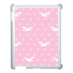 Wallpaper Same Palette Pink Star Bird Animals Apple Ipad 3/4 Case (white)