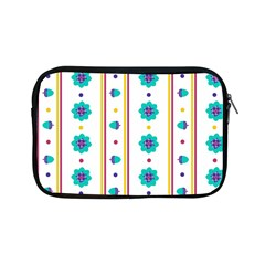 Beans Flower Floral Blue Apple Ipad Mini Zipper Cases by Alisyart