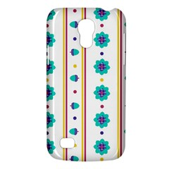 Beans Flower Floral Blue Galaxy S4 Mini by Alisyart