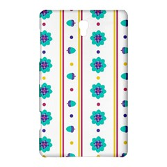 Beans Flower Floral Blue Samsung Galaxy Tab S (8 4 ) Hardshell Case  by Alisyart