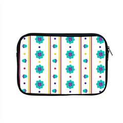 Beans Flower Floral Blue Apple Macbook Pro 15  Zipper Case by Alisyart