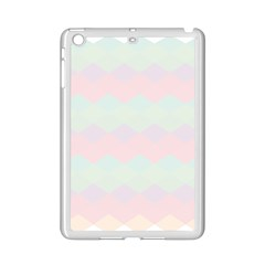 Argyle Triangle Plaid Blue Pink Red Blue Orange Ipad Mini 2 Enamel Coated Cases