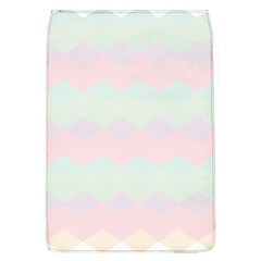 Argyle Triangle Plaid Blue Pink Red Blue Orange Flap Covers (l)  by Alisyart