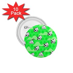 Animals Cow Home Sweet Tree Green 1 75  Buttons (10 Pack) by Alisyart